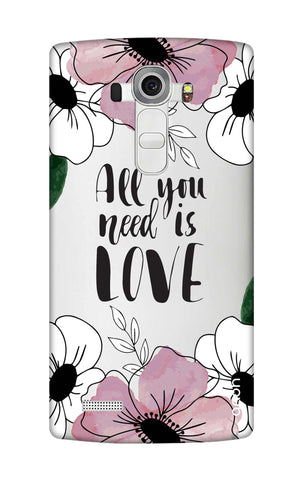 All You Need is Love LG G4 Cases & Covers Online
