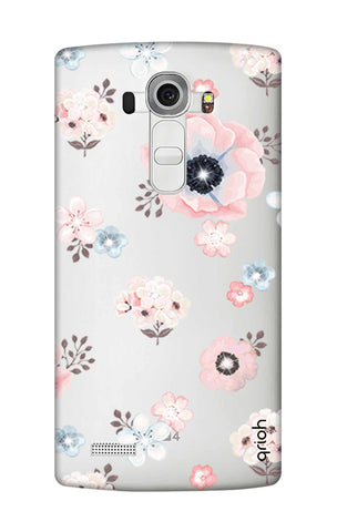 Beautiful White Floral LG G4 Cases & Covers Online