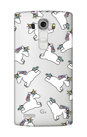 Jumping Unicorns LG G4 Cases & Covers Online