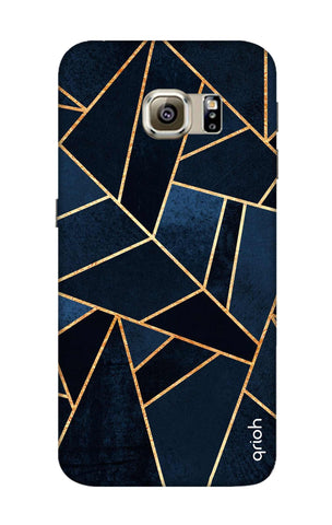 Abstract Navy Samsung S6 Cases & Covers Online