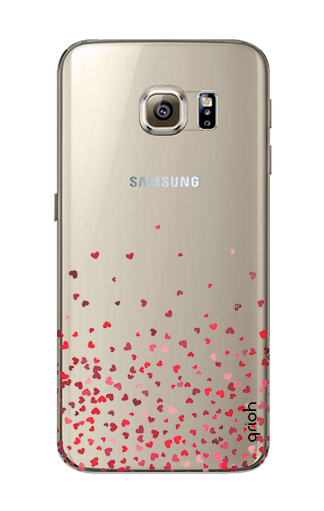 premium selection 2f875 38153 Floating Hearts Case for Samsung S6