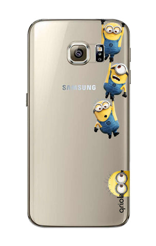 Falling Minions Samsung S6 Cases & Covers Online