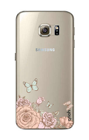 Flower And Butterfly Samsung S6 Cases & Covers Online