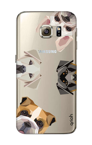 Geometric Dogs Samsung S6 Cases & Covers Online