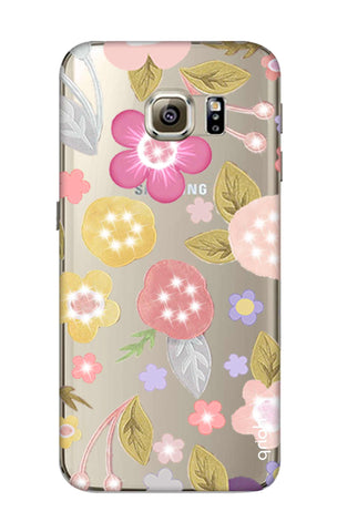 Multi Coloured Bling Floral Samsung S6 Cases & Covers Online