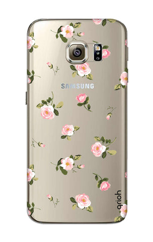 Pink Rose All Over Samsung S6 Cases & Covers Online