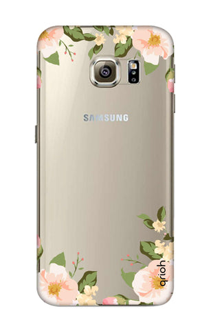 Flower In Corner Samsung S6 Cases & Covers Online