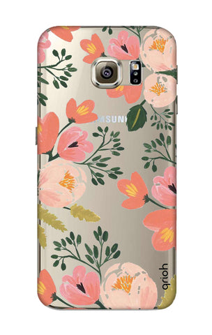 Painted Flora Samsung S6 Cases & Covers Online