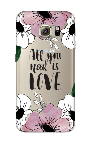 All You Need is Love Samsung S6 Cases & Covers Online