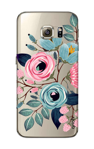 Pink And Blue Floral Samsung S6 Cases & Covers Online