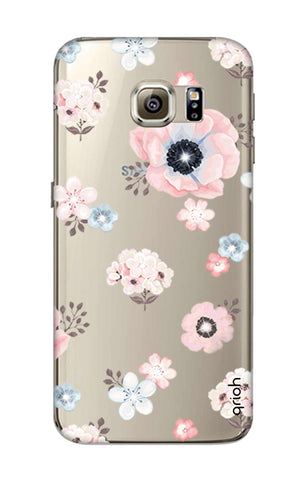 Beautiful White Floral Samsung S6 Cases & Covers Online