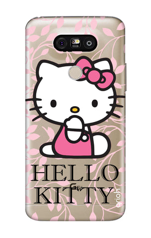 Hello Kitty Floral LG G5 Cases & Covers Online