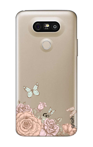 Flower And Butterfly LG G5 Cases & Covers Online