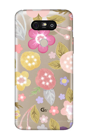Multi Coloured Bling Floral LG G5 Cases & Covers Online