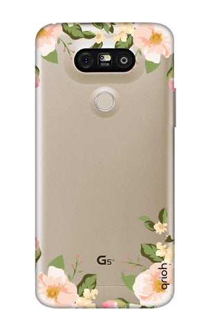 Flower In Corner LG G5 Cases & Covers Online