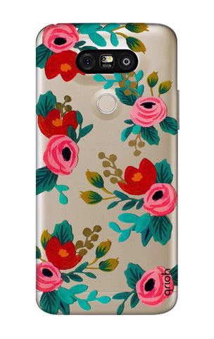 Red Floral LG G5 Cases & Covers Online