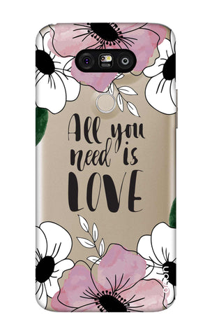 All You Need is Love LG G5 Cases & Covers Online