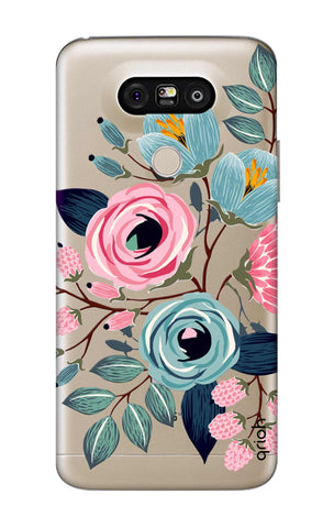Pink And Blue Floral LG G5 Cases & Covers Online
