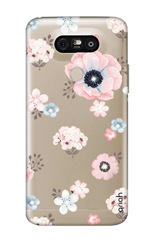 Beautiful White Floral LG G5 Cases & Covers Online