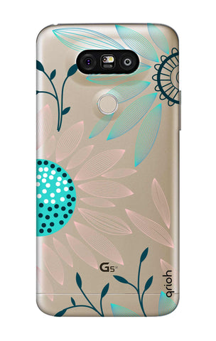Pink And Blue Petals LG G5 Cases & Covers Online