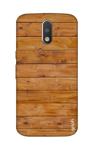 Natural Wood Motorola Moto G4 Cases & Covers Online