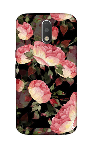 Watercolor Roses Motorola Moto G4 Cases & Covers Online