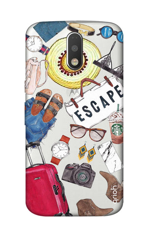 Travel Doodle Motorola Moto G4 Cases & Covers Online