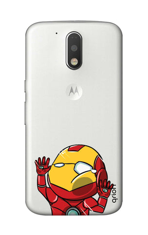 Iron Man Wall Bump Motorola Moto G4 Cases & Covers Online