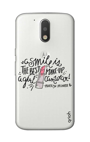 Make Up Smile Motorola Moto G4 Cases & Covers Online