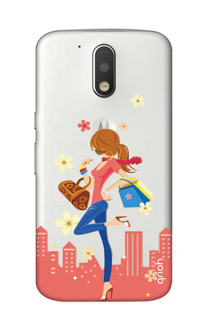 Shopping Girl Motorola Moto G4 Cases & Covers Online