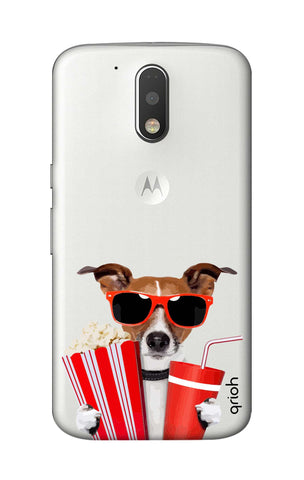 Dog Watching 3D Movie Motorola Moto G4 Cases & Covers Online