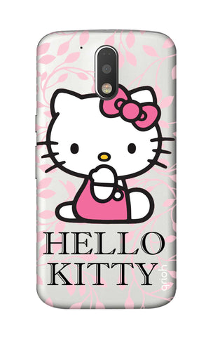 Hello Kitty Floral Motorola Moto G4 Cases & Covers Online
