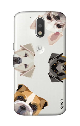 Geometric Dogs Motorola Moto G4 Cases & Covers Online