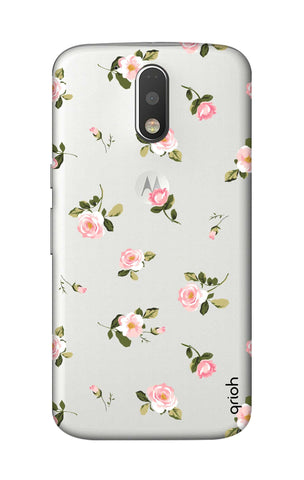Pink Rose All Over Motorola Moto G4 Cases & Covers Online