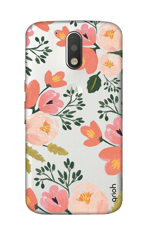Painted Flora Motorola Moto G4 Cases & Covers Online