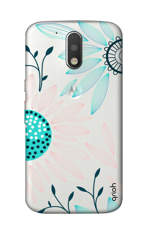 Pink And Blue Petals Motorola Moto G4 Cases & Covers Online