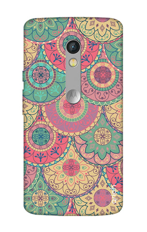Colorful Mandala Motorola Moto X Play Cases & Covers Online