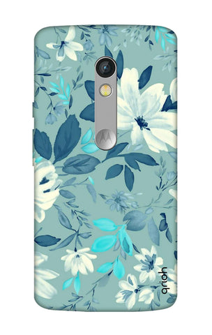 White Lillies Motorola Moto X Play Cases & Covers Online