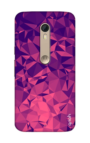 Purple Diamond Motorola Moto X Style Cases & Covers Online