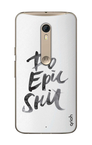 Do EPIC Shit Paint Motorola Moto X Style Cases & Covers Online