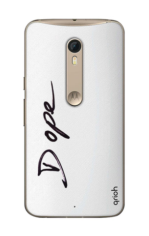 Dope Paint Black Motorola Moto X Style Cases & Covers Online