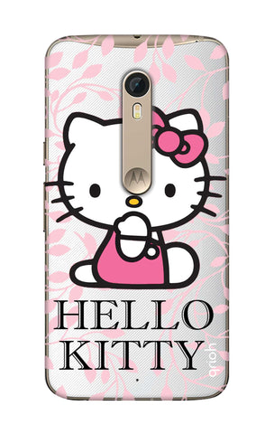 Hello Kitty Floral Motorola Moto X Style Cases & Covers Online