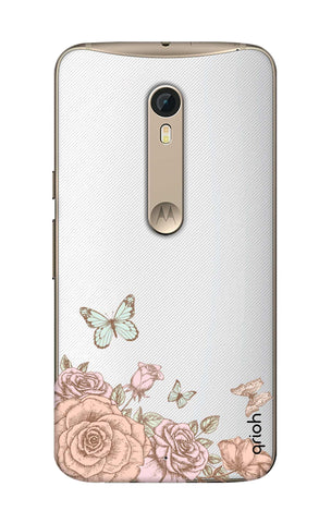 Flower And Butterfly Motorola Moto X Style Cases & Covers Online