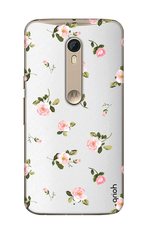 Pink Rose All Over Motorola Moto X Style Cases & Covers Online