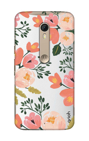 Painted Flora Motorola Moto X Style Cases & Covers Online