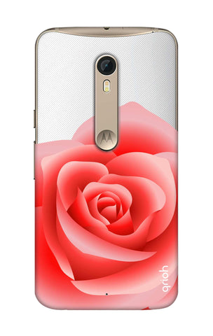 Peach Rose Motorola Moto X Style Cases & Covers Online