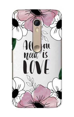 All You Need is Love Motorola Moto X Style Cases & Covers Online