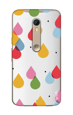 Colourful Drops Motorola Moto X Style Cases & Covers Online