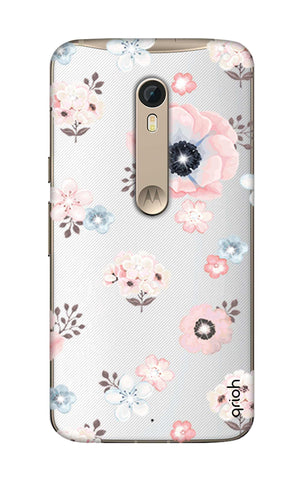 Beautiful White Floral Motorola Moto X Style Cases & Covers Online