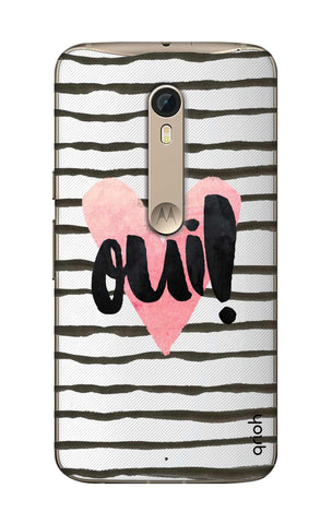 Oui! Motorola Moto X Style Cases & Covers Online